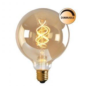 Globen Lighting Led Soft L205 Lamppu Kultainen Himmennettävä 5 W E27 Kirkas