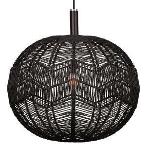 Globen Lighting Missy Kattolamppu Musta 45 Cm