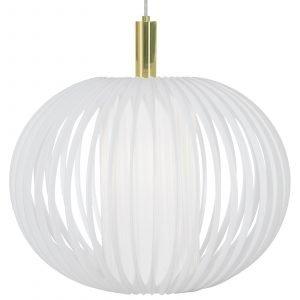 Globen Lighting Plasband Xl Kattolamppu Valkoinen 50 Cm