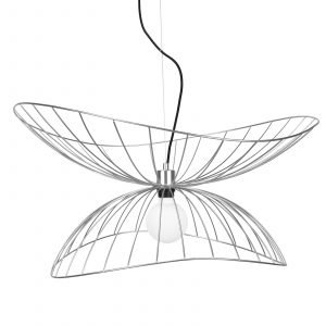 Globen Lighting Ray Kattolamppu Kromi 70 Cm