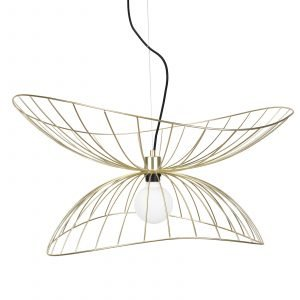 Globen Lighting Ray Kattolamppu Messinki 70 Cm