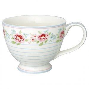Greengate Meryl Teekuppi Valkoinen