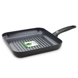 Greenpan Cambridge Neliskulmainen Grillipannu 28 Cm