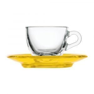 Guzzini Gocce Espressokuppi Keltainen 9 Cl