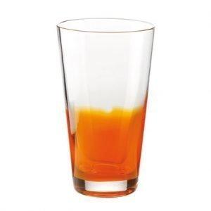 Guzzini Two Tone Juomalasi Oranssi