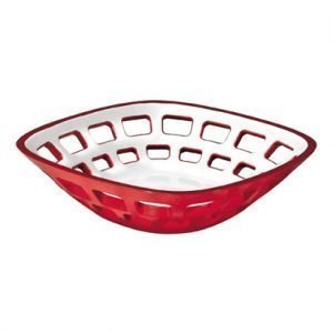 Guzzini Vintage Leipäkori Punainen