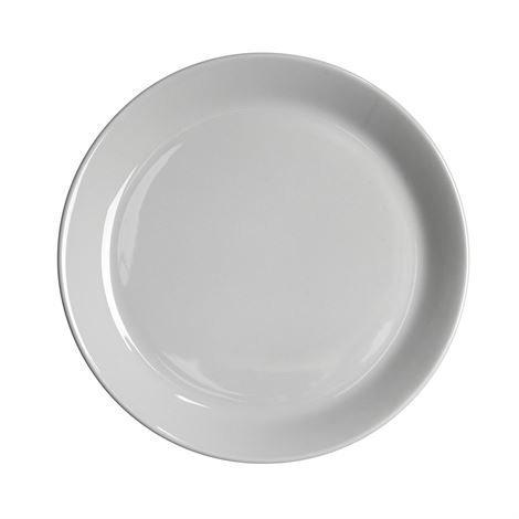 Höganäs Lautanen 20 cm Vaaleanharmaa Kiiltävä