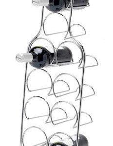 Hahn Kitchenware Pisa Viinipulloteline 10 pullolle kromia