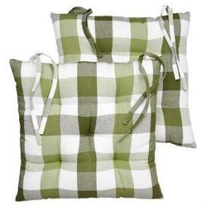 Halens Istuintyyny 2-Pakkaus Oliivinvihreä