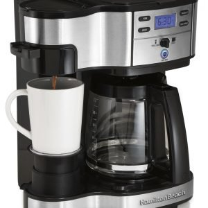 Hamilton Beach 2 Way Brewer Kahvinkeitin Metalli