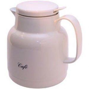 Helios Termoskanna Kaffe vit