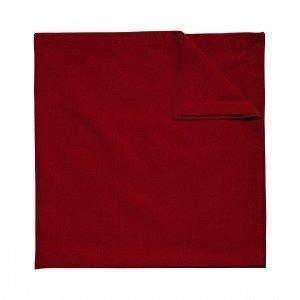 Hemtex Agnes Tablecloth Pöytäliina Joulunpunainen 90x90 Cm