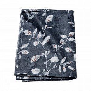 Hemtex Alicia Coated Tablecloth Pöytäliina Harmaansininen 140x250 Cm
