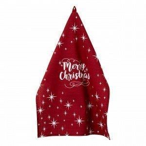 Hemtex Chenille Placemat Keittiöpyyhe Joulunpunainen 50x70 Cm