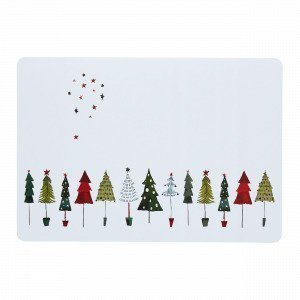 Hemtex Christmas Trees Tabletti Multi 30x43 Cm