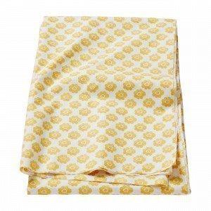 Hemtex Colette Coated Tablecloth Pöytäliina Keltainen 140x300 Cm