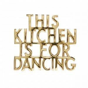 Hemtex Dancing Pannunalunen Kulta 17x15 Cm