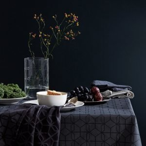 Hemtex Edit Kitchentowel Keittiöpyyhe Keskisininen 50x70 Cm