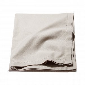 Hemtex Ester Tablecloth Pöytäliina Beige 140x250 Cm Beige 140x250 Cm