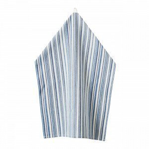 Hemtex Floral Stripe Keittiöpyyhe Monivärisininen 50x70 Cm