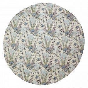 Hemtex Foxglove Round Tablecloth Pöytäliina Pyöreä Multi 145x145 Cm