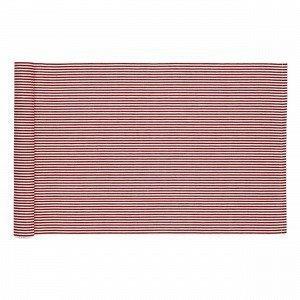 Hemtex Gertrud Stripes Kaitaliina Joulunpunainen 40x140 Cm
