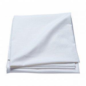 Hemtex Linnea Coated Tablecloth Pöytäliina Valkoinen 140x250 Cm