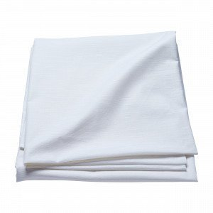 Hemtex Linnea Coated Tablecloth Pöytäliina Valkoinen 140x300 Cm