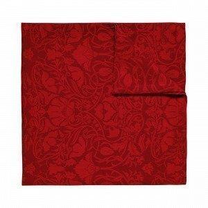 Hemtex Otilia Pöytäliina Joulunpunainen 140x350 Cm