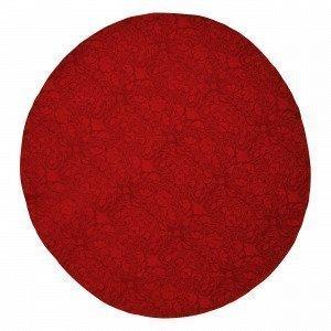 Hemtex Otilia Pyöreä Pöytäliina Joulunpunainen 145x145 Cm