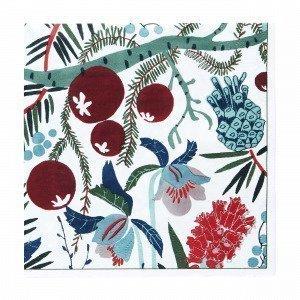 Hemtex + Plingsulli Julros Paperiservetit Monivärivalkoinen 33x33 Cm