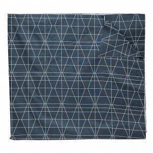 Hemtex Spektakel Pöytäliina Harmaansininen 140x250 Cm