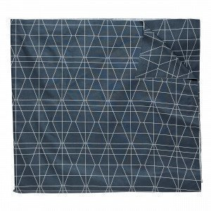 Hemtex Spektakel Pöytäliina Tummansininen 140x250 Cm