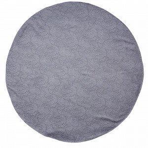 Hemtex Spira Pyöreä Pöytäliina Tummanharmaa 145x145 Cm