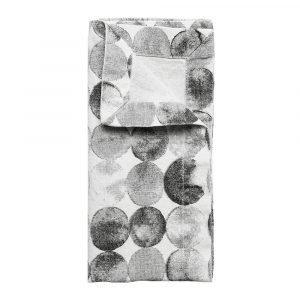 Himla Ayako Servetti Stone 42x42 Cm 2-Pakkaus