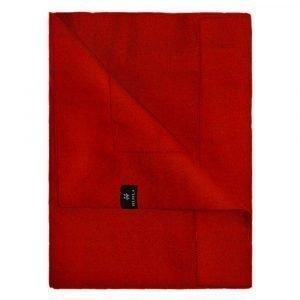 Himla Ebba Pöytäliina Deep Red 160x160 Cm