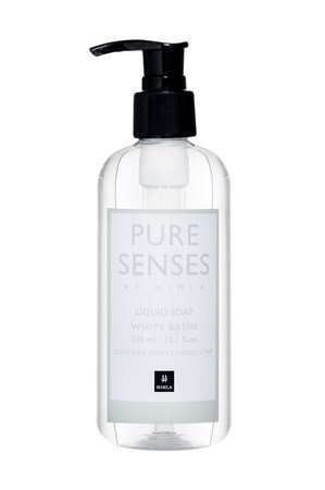 Himla Nestesaippua Pure Senses 300ml white satin