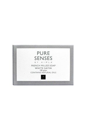 Himla Saippua Pure Senses 100gr white satin