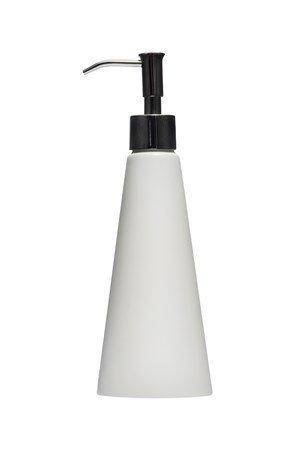 Himla Saippuapumppu Singel 23cm korkkipuuta valkoinen