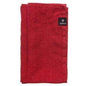 Himla Sunshine Servetti True Red 45x45 Cm 4-Pakkaus