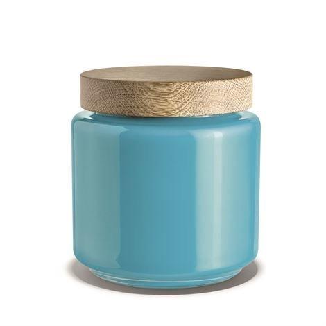 Holmegaard Palet Säilytyspurkki 2 L - Sininen
