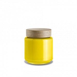 Holmegaard Palet Säilytyspurkki Lasi Keltainen 0.5 L