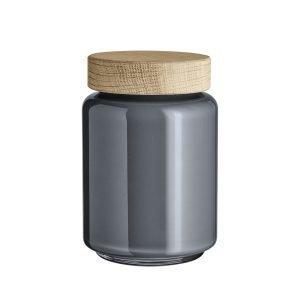 Holmegaard Palet Säilytyspurkki Tummanharmaa 70 Cl