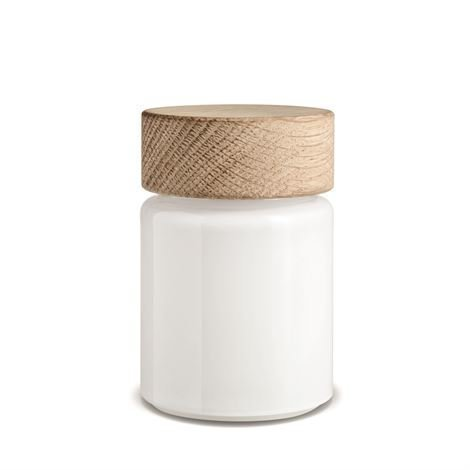 Holmegaard Palet Suola- Tai Pippurimylly Suolamylly Valkoinen