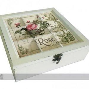 Home4you Teelaatikko Rose