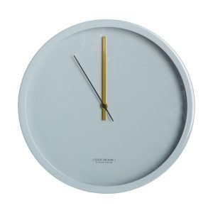 House Doctor Clock Couture Seinäkello Vaaleanharmaa 30 Cm