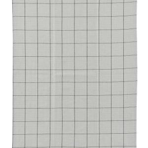 House Doctor Keittiöpyyhe Ruudullinen Musta / Harmaa 50x70 Cm