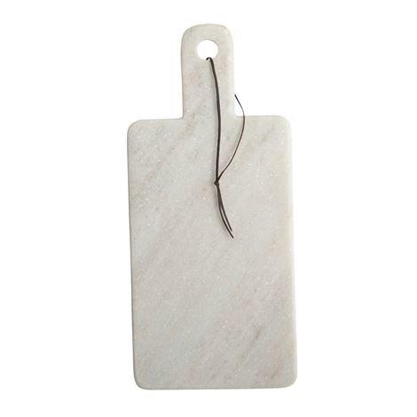 House Doctor Leikkuulauta 40 cm Valkoinen Marmori