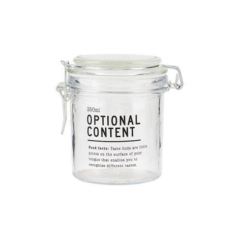 House Doctor Optional Content Lasipurkki 250 Ml