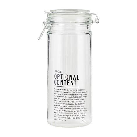 House Doctor Optional Content Lasipurkki 900 Ml
